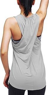 لباس زیر زنانه کراس یوگا پیراهن یوگا Activewear Workout Clothes Racerback Tank Top