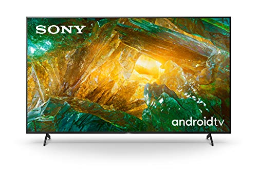 Sony KE85XH8096PBAEP, Android Tv 85 Pollici, Smart Tv 4K Hdr Led Ultra Hd, con Assistenti Vocali Integrati