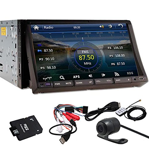 HD PUPUG GPS Navigator 7 'Logo HD Double 2 Din Autoradio r¨¦cepteur DVD 3D PIP Bluetooth TV...
