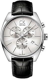 CALVIN KLEIN Exchange Silver Dial Men's Chronograph Watch K2F27120