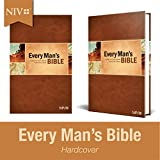 Every Man's Bible NIV (Hardcover) – Study Bible for Men with Study Notes, Book Introductions, and 44 Charts