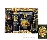 Guinness Bier mit Crisps und Dips. Geschenkverpackt. GRATIS Geschirrtuch