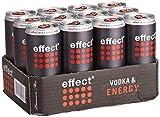 Vodka+effect 0,33l Dose NEU 12x