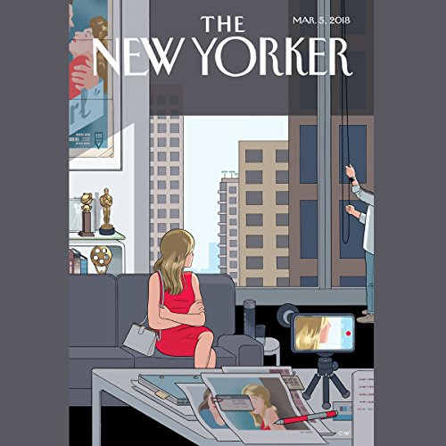 The New Yorker, March 5th 2018 (Mike Spies, Jon Lee Anderson, John McPhee) audiobook cover art