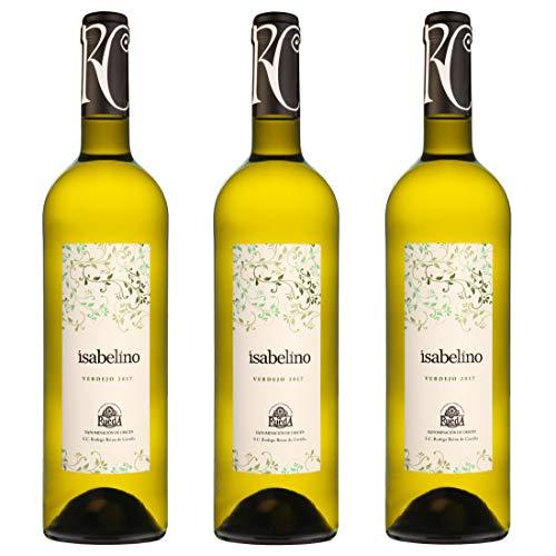 Weißwein Isabelino Verdejo D.O. Rueda (3 x 0,75 l)