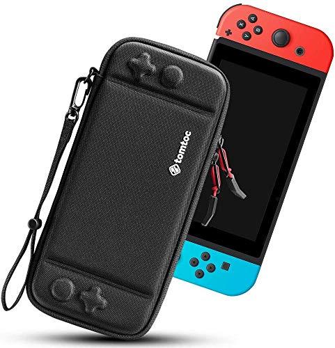 Nintendo Switch対応 tomtoc ハードケース スイッチ 耐衝撃 薄型 キャリングケース 落下試験済み 撥水表面 ...