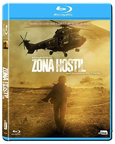 Rescue Under Fire (2017) ( Zona hostil ) [ Origine Spagnolo, Nessuna Lingua Italiana ] (Blu-Ray)