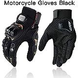 Touchscreen Guanto da motociclista Hard Knuckle Full Finger Guanti Equipaggiamento protettivo Racing Motociclista Equitazione Moto Motocross-a2-M