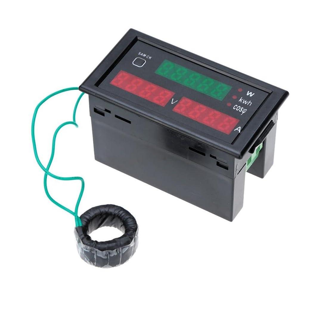 テメリティ泣いている耳Homyl AC80-300V 100AデジタルLEDアンプボルトメーター電源電気エネルギーテスター&CT