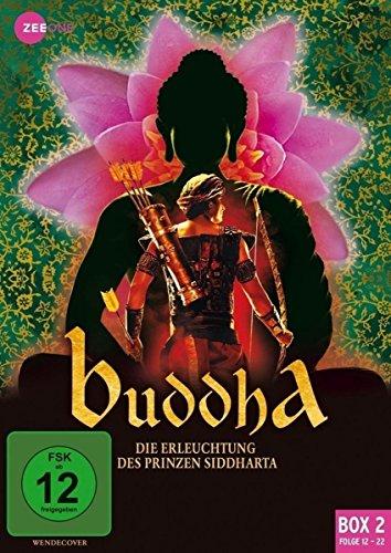 Buddha - Die Erleuchtung des Prinzen Siddharta, Box 2, Folge 12-22 [3 DVDs]