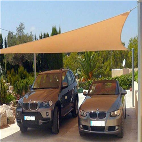 YQ QY Shading Net Sunscreen Shade Sail con Ojales for Cubierta De...