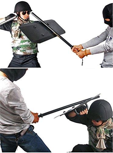 "Shindn Enhanced Aluminum Alloy Arm Shield Body Protection Tactical Shield 29.5"" X 11.8"" …"