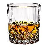 jjh Cocina calculagraph Cristal whisky vidrio vidrio de vino extranjero vidrio clásico para beber brandy barra de vino set cerveza vidrio temporizador de riego (Color: Azul)