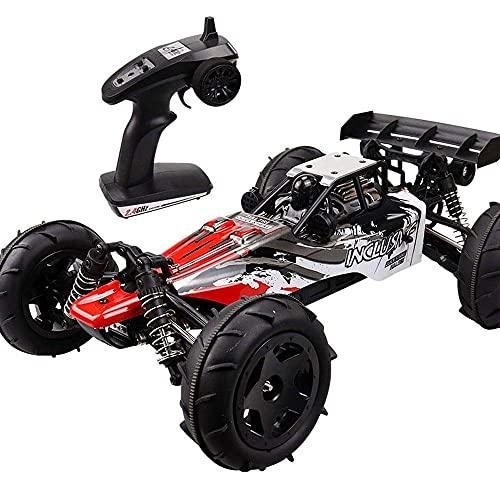LINXIANG Coche de control remoto de carreras a gran escala a escala 1/12 2.4G Coche de RC todoterreno de alta velocidad Suspensión independiente Drift RC Vehículo Bigfoot Monster RC Coche Niño Niña Re