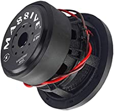 Car Subwoofer by Massive Audio HIPPOXL84 - SPL Extreme Bass Woofer - 8 Inch Car Audio 700 Watt HippoXL Series Competition Subwoofer, Dual 4 Ohm, 2.5 Inch Voice Coil. Sold Individually