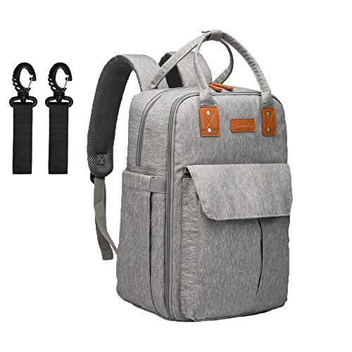 Changing Bag Backpack,Baby Nappy Changing Backpack for Mom and Dad,...