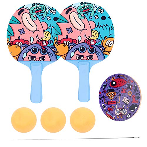 Why Choose Table Tennis Trainer, Portable Ping Pong Trainer Table Tennis Racket and Balls Set Ping P...
