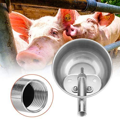 Sheens Tazón de Agua automático de Acero Inoxidable