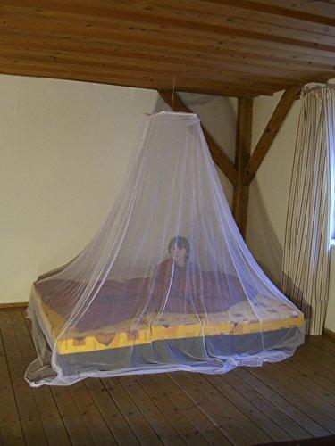 Planksnijder muggennet planksnijder standaard Big Bell muggennet, polyester, wit, één maat