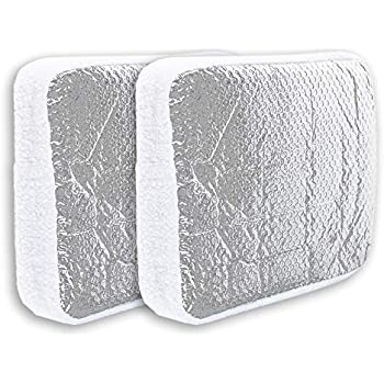 Amazon Com Cynder 02061 Camper Rv Vent Insulator Pillow With Reflective Surface Shield Fits Standard Rv Vents 14 Two Pack Automotive