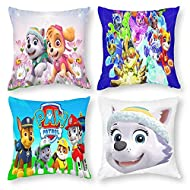 pa-w patr-ol Cushion Covers 18X18Inch /45x45cm Decorative Throw Pillow Case for Sofa Bedroom Living ...