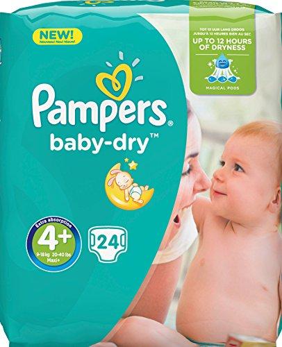 Pampers Baby-Dry Windeln Mini 9–18kg Größe 4