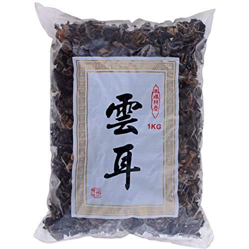 Mountains Champiñones Negros (Negro / Negro) Paquete de 1 x 1 kg 1000 g