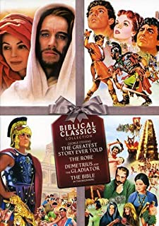 The Greatest Story Ever Told / The Robe / Demetrius and The Gladiators / The Bible: In the Beginning