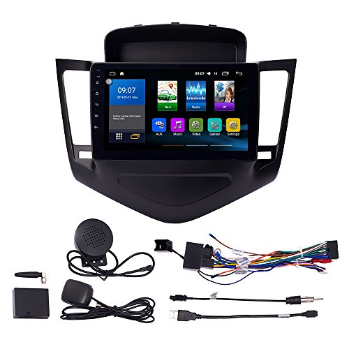 Android 10 Autoradio Car Navigation Stereo Multimedia Player GPS Radio 2.5D IPS Touch Screen for Chevrolet Cruze 2009-2013