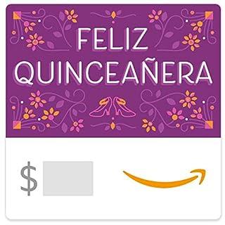 Amazon eGift Card - Feliz Quinceañera (B07NZ9YG65)   Amazon price tracker / tracking, Amazon price history charts, Amazon price watches, Amazon price drop alerts