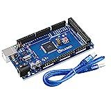 ELEGOO Mega R3 Tarjeta Placa Compatible con Arduino IDE con Microcontrolador Basada...