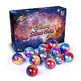 Joyjoz Slime Kit da 12 Confezioni di Slime Stucco Galaxy, Palline di Slime Metallizzato, allungabile, Morbido per Feste per Bambini e Adulti