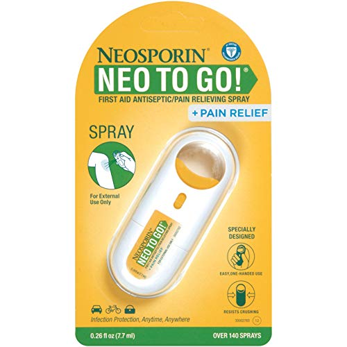 Neosporin + Pain Relief Neo To Go! First Aid Antiseptic/Pain Relieving...