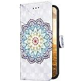 Uposao Compatible con Funda Samsung Galaxy J4 2018 Funda Piel PU Cuero Billetera Flip Estilo Libro...