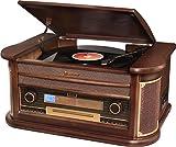 Roadstar HIF-1896TUMPK Giradiscos Vintage con función encoding
