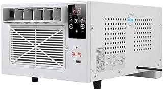Warmwin 1100W Mini Aire Acondicionado de refrigeración portátil USB de Carga rápida de Control Remoto, Utilizado para Oficina en el hogar al Aire Libre Industrial Blanco