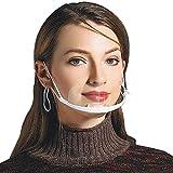 AIEOE 30 Stück Gesichtsschutz Schild Anti-Splash Transparent Schutz Visier Kunststoff Hygiene Schutzschirm für Restaurant Küche Gastronomie