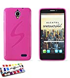Muzzano Le S - Funda para Alcatel One Touch Idol, color rosa caramelo