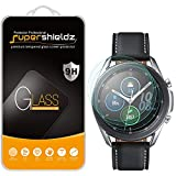 (3 Pack) Supershieldz for Samsung Galaxy Watch 3 (45mm) Tempered Glass Screen Protector, Anti Scratch, Bubble Free
