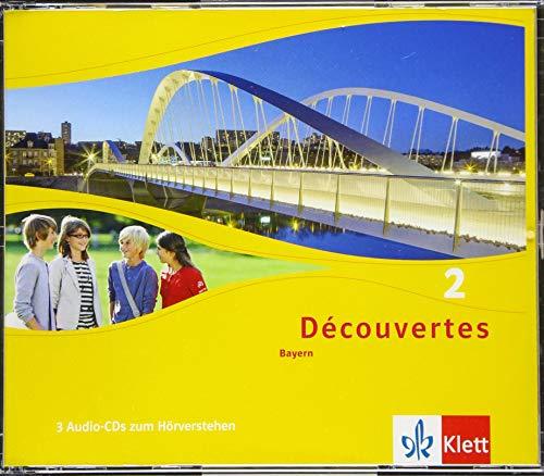 Découvertes 2. Ausgabe Bayern: Audio-CD 2. Lernjahr (Découvertes. Ausgabe für Bayern ab 2017)