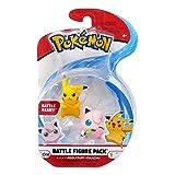 Pokémon Battle Figure Set - 95021 - Pack 2 Figurines - Pikachu + Rondoudou - Neuf