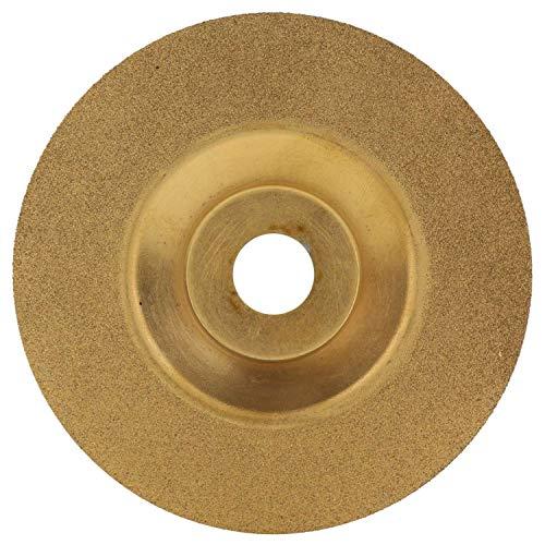 Gaetooely 100 Mm Oro Diamante Titanio Pulido Motosierra Circular Disco de Corte Herramienta de Cortador de Fresado Afilador de Amoladora Angular Accesorios