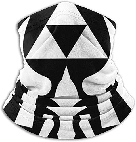 Not applicable Lege-nd Of Zel-da Trif-orce Hals Gamasche Kopfbedeckung, Gesicht Sun Maske magischer Schal Bandana Balaclava Stirnband für Radfahren Angeln Motorradfahren Laufen Skate