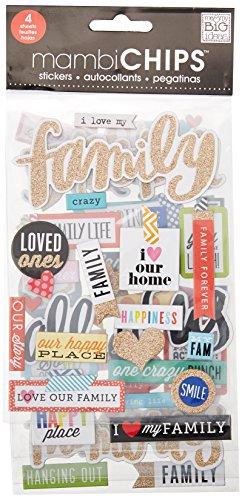 me & my BIG ideas aglomerado Valor Pack-i Familia de Love My