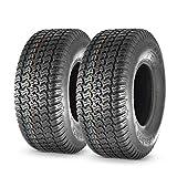 MaxAuto 18X6.50-8 18x6.5x8 Turf Saver Lawn Mower Tire 4PR, Set of 2