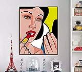 DIY Pintar por números Photo de décoration Art Pop Hero Pintar por numeros Gato con Pincel y Pintura acrílica Kits Theme Digital Home Wall Artwork Adecuado para la decoración50x60cm(Sin Marco)