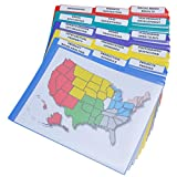 Ultimate Office Everlast Clear Front Document Folder Project Pockets, 3rd Cut...