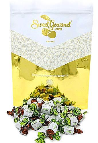 SweetGourmet Chocolate Filled Mints | Premium Hard Candies | Arcor Bulk Candy | 4 Pounds