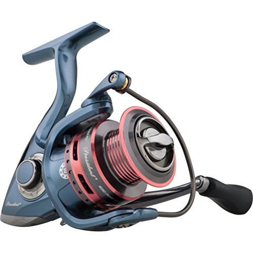 Pflueger Lady President Spinning Fishing Reel, PRESLADYSP35X