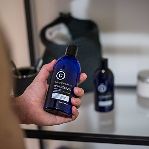 K + S Men's Hair Conditioner - Stylist-Level Hair Care Products for Men - Infused with Peppermint...